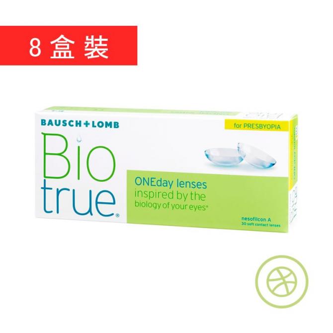 Biotrue 1-Day Presbyopia (8 Boxes)